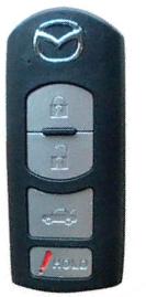 Ключ для автомобиля Мазда от Mazda