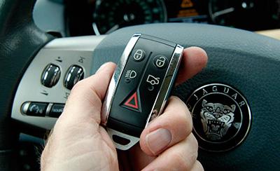 изготовление ключей для автомобиля Ягуар