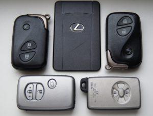 Дубликат ключа автомобиля Лексус